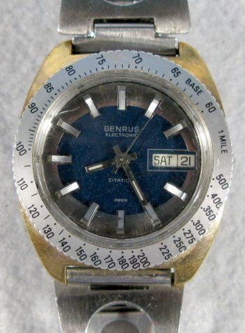 420: 2 Benrus Citation Wrist Watches - 6