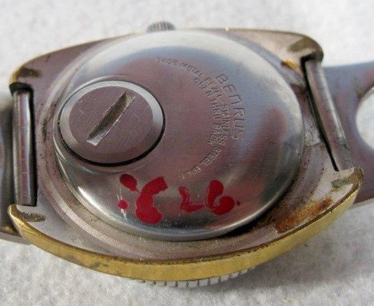 420: 2 Benrus Citation Wrist Watches - 7