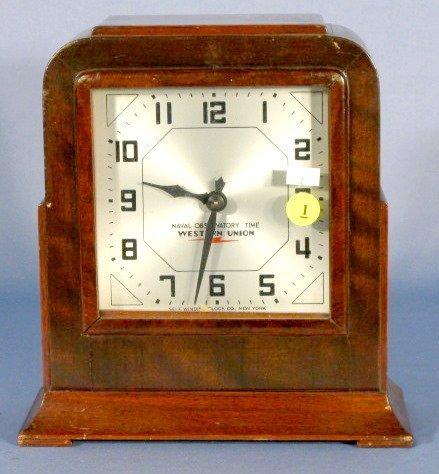 1: Self Winding Shelf Clock, Naval Observatory