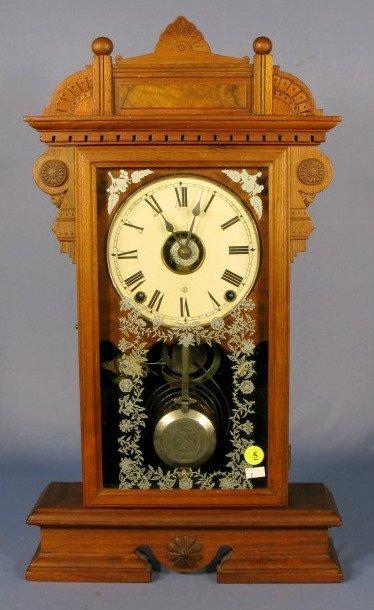 5: Seth Thomas Parlor Clock w/Alarm