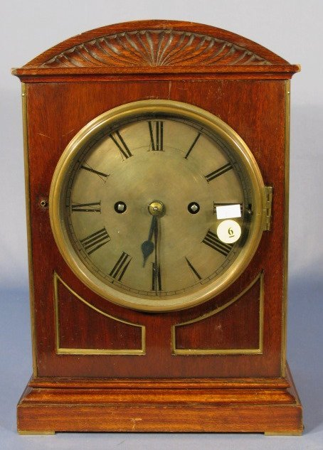6: W&H #4 8 Bell Bracket Clock