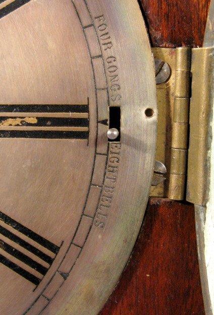 6: W&H #4 8 Bell Bracket Clock - 4