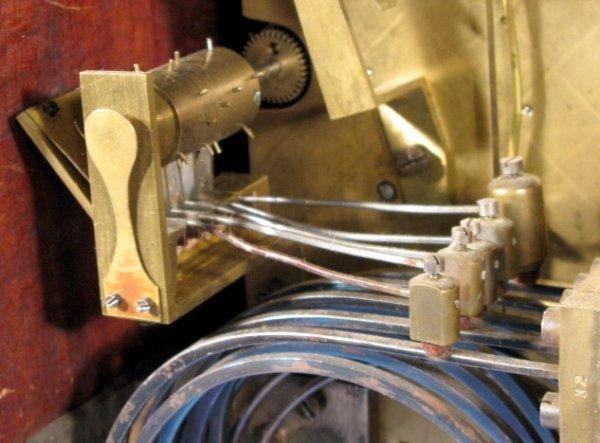 6: W&H #4 8 Bell Bracket Clock - 8