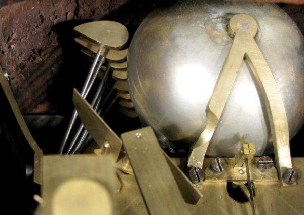 6: W&H #4 8 Bell Bracket Clock - 9