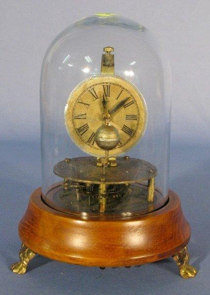 9: Briggs Type Rotary Clock Under Dome