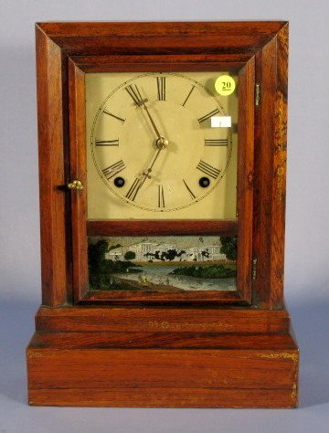 20: Daniel Pratt & Sons Early American Shelf Clock