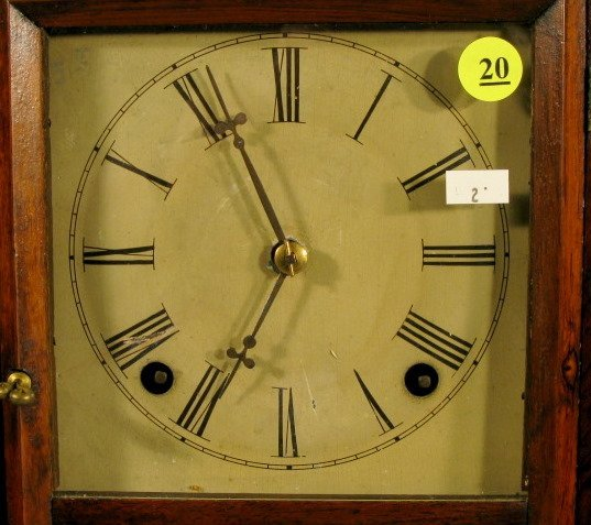 20: Daniel Pratt & Sons Early American Shelf Clock - 2