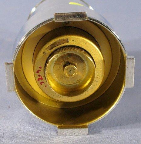 21: Abessi Germany Chrome Deco Digital Desk Clock - 3