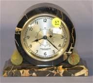 57 Hamilton Sangamo Synchronous Marble Cased Clock