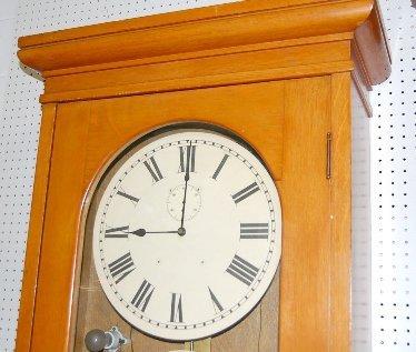 126: E. Howard Master Clock - 2