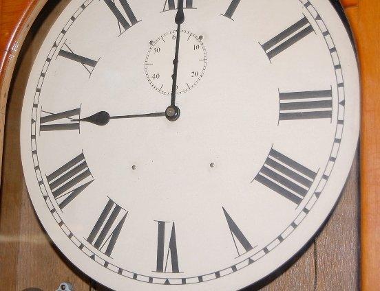 126: E. Howard Master Clock - 3