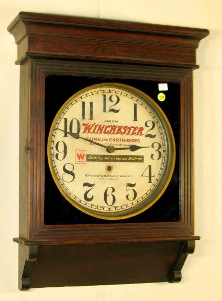 151: Sessions Advertising Winchester Lobby Clock