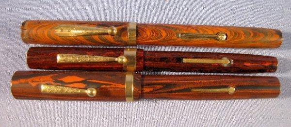 7: Waterman, Diamond & Other Hard Rubber Pens