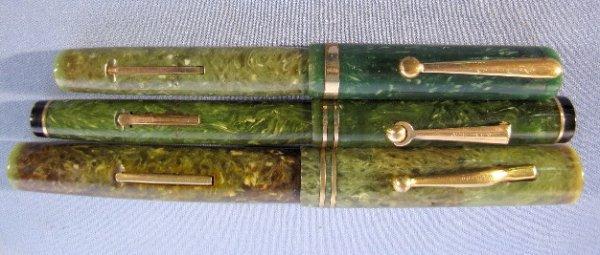 11: Carter's, Wahl & Sheaffer Pens