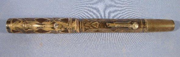 23: Waterman's #452 Sterling Overlay Pen