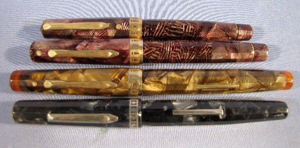 25: 4 Wahl-Eversharp Doric Gold Seal Pens