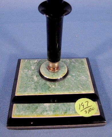 197: 5 Art Deco Pen Holders - 8
