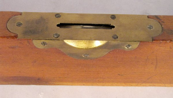 306: C.S. Co. Brass & Wood Level, Pine Meadow, Conn. - 4