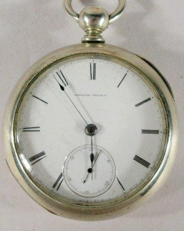 3: Waltham 15J 18S Appleton Model 57 Pocket Watch