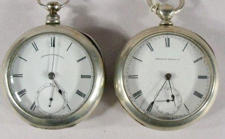 4: 2 Waltham P.S. Bartlett 11J 18S Pocket Watches