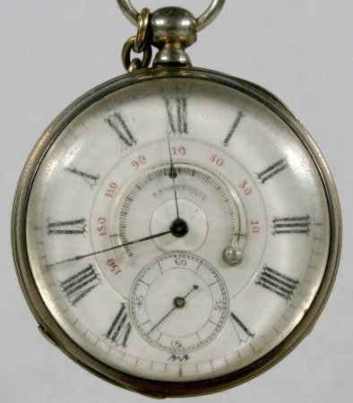 5: C. Garnier 15J 16S Hunting Case Pocket Watch