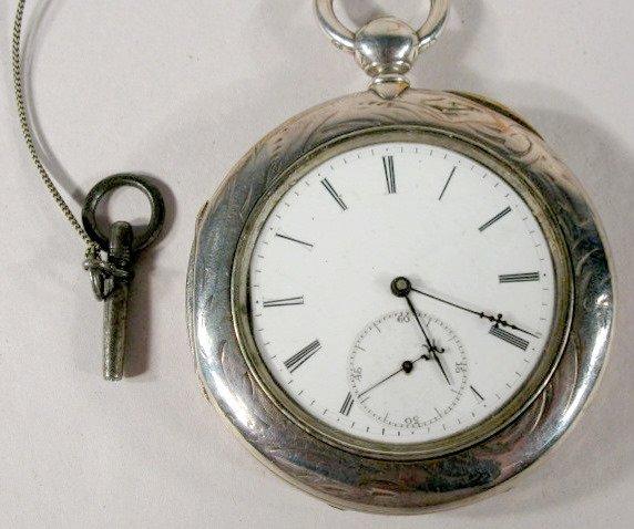 8: Ulysse Perret 15J Pair Case OF Pocket Watch