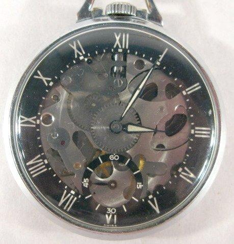 9: Girard Perregaux 7J 16S OF Pocket Watch
