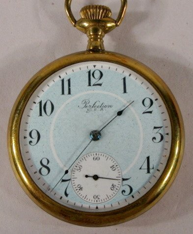 12: NY Standard Perfection 4J 16S OF Pocket Watch