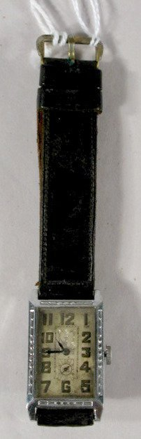 14: Abra Watch Co. 6J Leather Band Wrist Watch