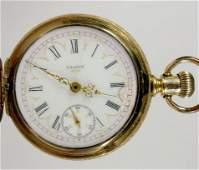 19: Elgin G.M. Wheeler 15J 18S Grade 103 Pocket Watch