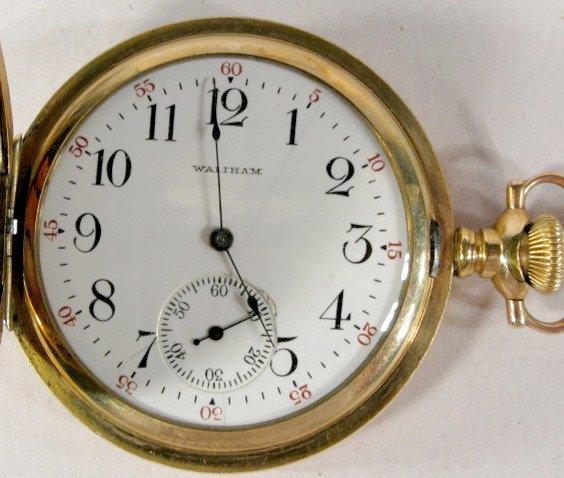23: Waltham Model 94 Grade 220 15J 12S Pocket Watch