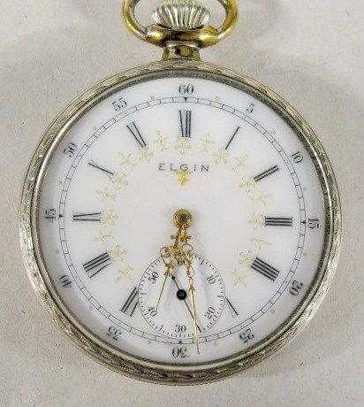 Elgin Nat'l 17J 16S OF No.13501290 Pocket Watch