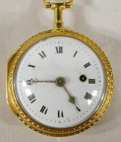 88: A Amions Goret 18K Pocket Watch
