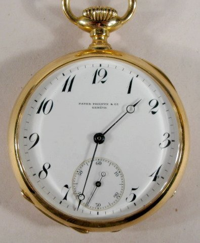 180: Patek Phillipe 20J 18K OF Pocket Watch