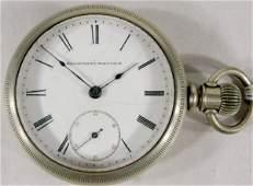 215: Elgin B.W. Raymond 15J 18S Grade 70 Pocket Watch