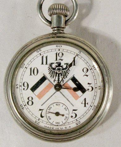 339: 1910 Kaiser Wilhelm II Commemorative Pocket Watch