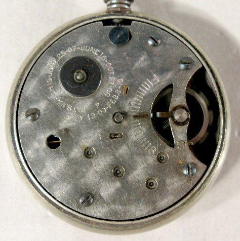 339: 1910 Kaiser Wilhelm II Commemorative Pocket Watch - 5