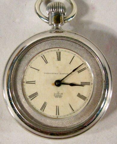 344: Waterbury Watch Co. OF LS Pocket Watch