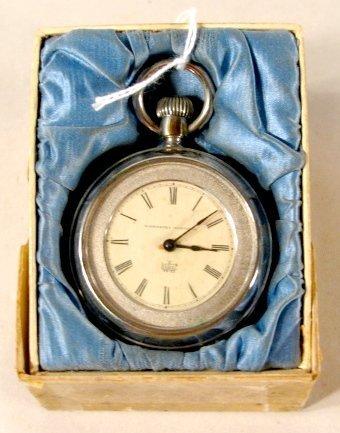 344: Waterbury Watch Co. OF LS Pocket Watch - 5