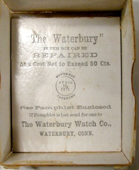 344: Waterbury Watch Co. OF LS Pocket Watch - 7