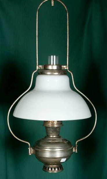 3012: Aladdin Hanging Lamp #6 1915-16 Burner NR