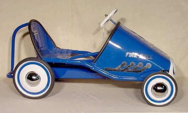 3017: Murray Tot Rod Racer Pedal Car Fireball NR - 2