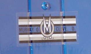 3017: Murray Tot Rod Racer Pedal Car Fireball NR - 3