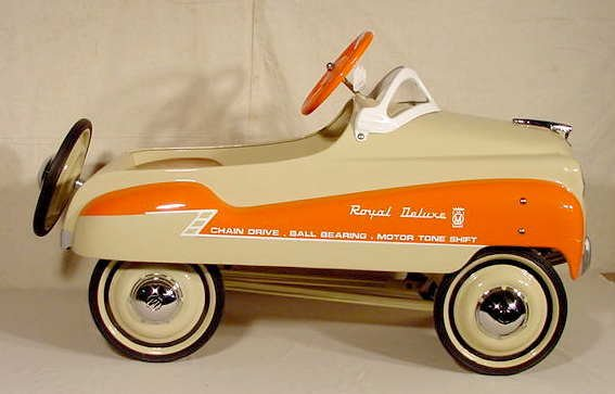 3032: Murray Champion Dipside Pedal Car Restored NR