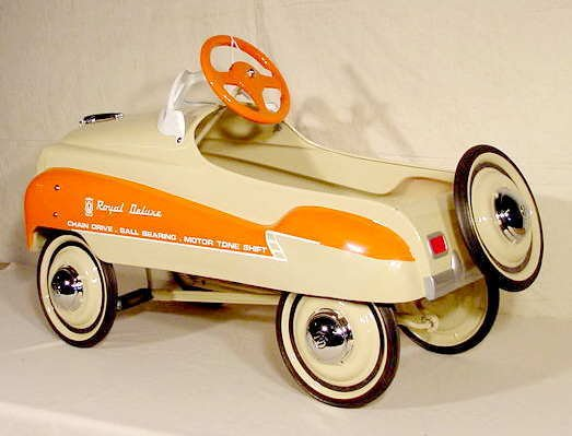 3032: Murray Champion Dipside Pedal Car Restored NR - 3