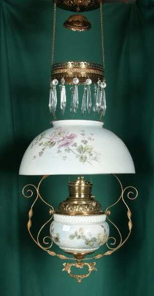 3128A: Decal & HP Shade & Font Hanging Lamp NR