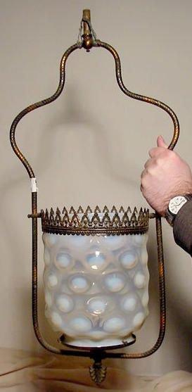 3008: Victorian Gas Hall Lamp NR