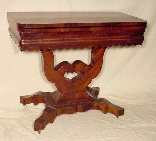 3015A: Walnut Game Table NR