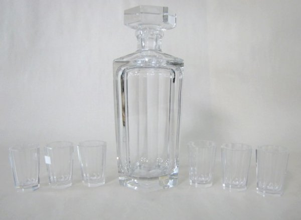 20: 7pc Kosta Clear Liquor Set