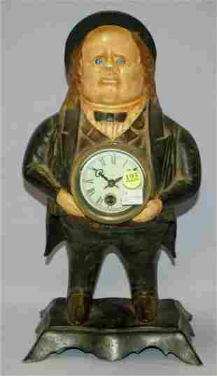 "Bradley & Hubbard ""John Bull"" Moving Eye Clock"